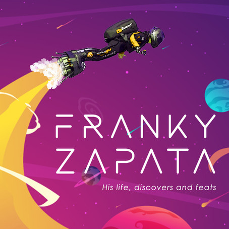 FRANKY ZAPATA: HIS LIFE, DISCOVERS AND FEATS