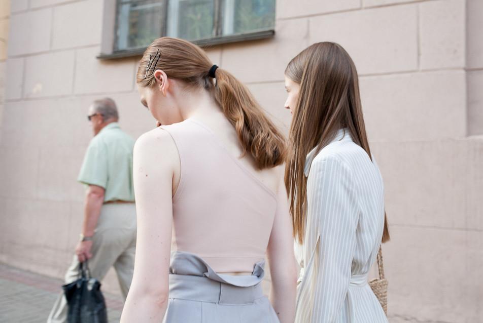 High fashion brand Leorgofman spring-summer 2019 campaign shoot