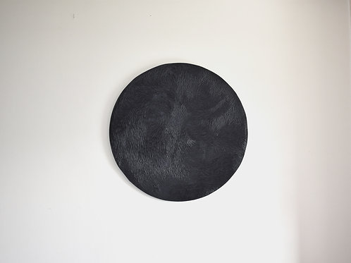 UNTITLED BLACK CARVING NO.2