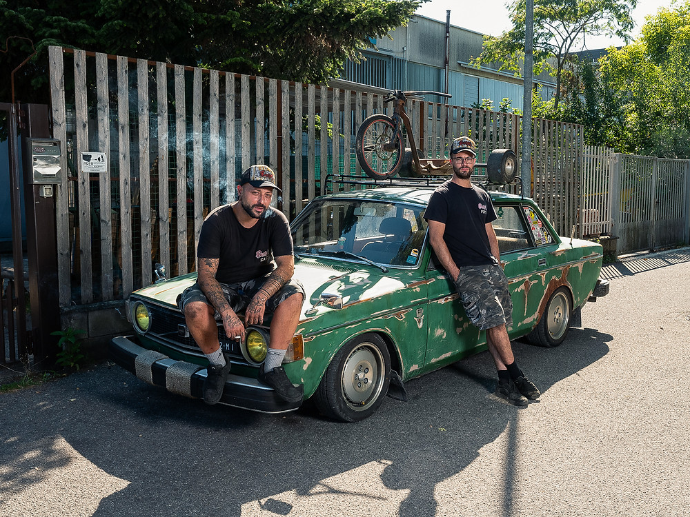 Photographers Pietro Baroni and Davide Bernardi's shot in Lodi