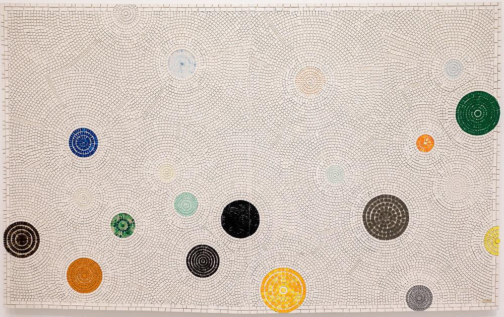 Black artist Jack Whitten's abstract artwork