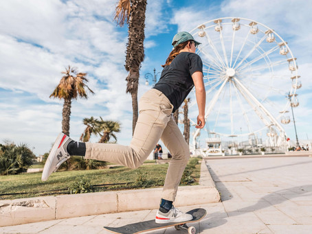 ASIA LANZI: PASSION FOR SKATEBOARDING LED HER TOWARDS OLYMPIC GAMES IN TOKYO