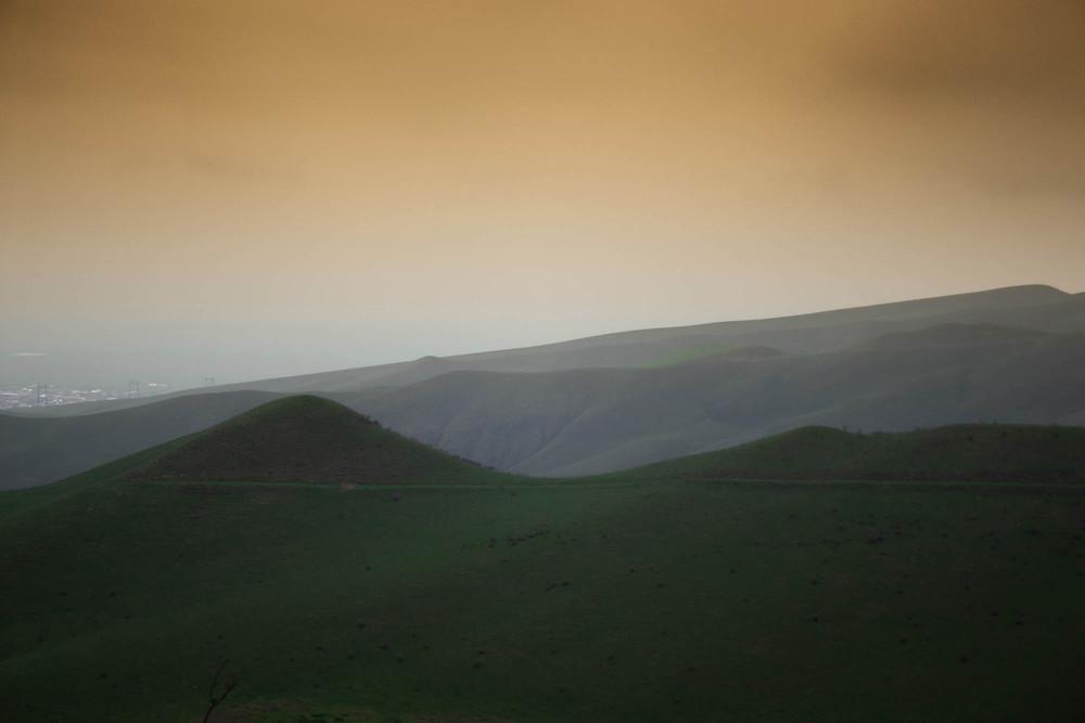 """Young photographer Simone Mancini """"Perturbazione247""""'s landscape shot"""