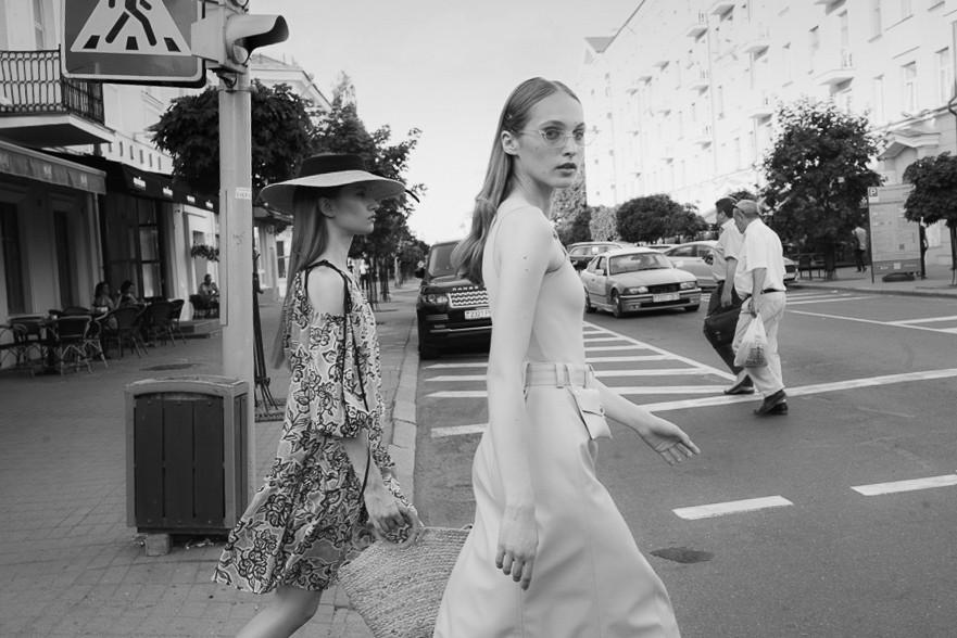 High fashion brand Leorgofman summer 2019 campaign shoot