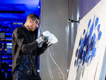OMAR HASSAN: HITTING THE CANVAS WITH ART AND GLOVES