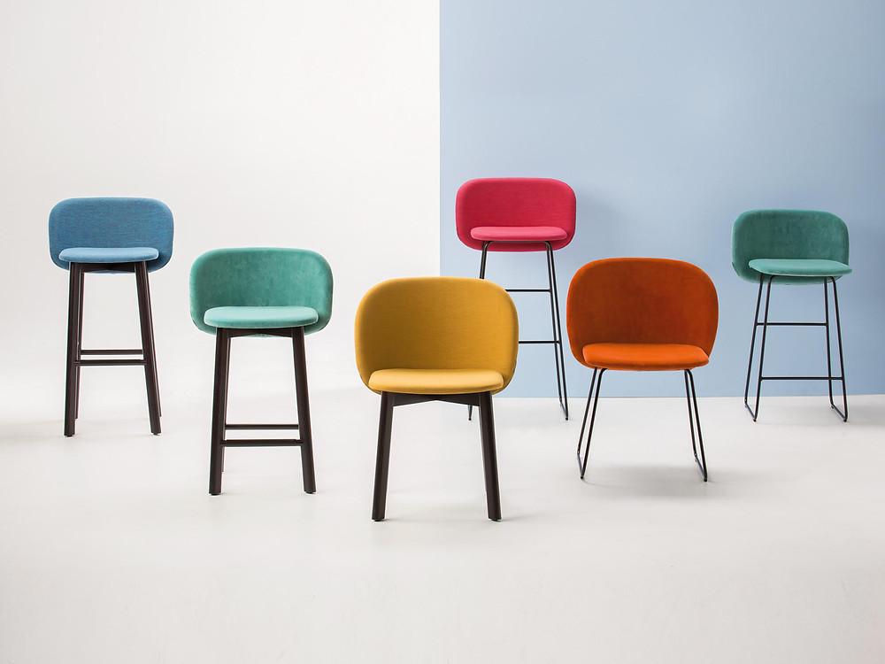 Domenico Santoro : Italian designer studio pastina makes minimalistic colorful chair