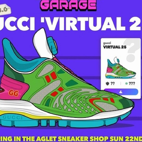 GUCCI VIRTUAL 25: HALLUCINATING COOLNESS