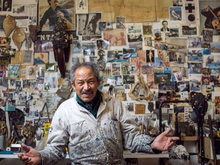 JACK WHITTEN: AGAINST RACISM TROUGH ABSTRACT ART