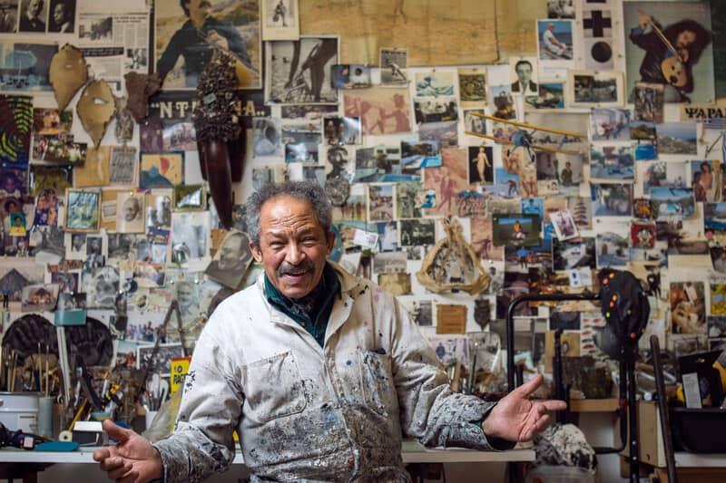 Black artist Jack Whitten