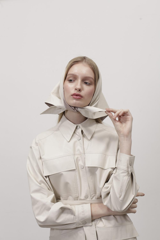 High fashion brand Leorgofman fall winter 2019 campaign shoot