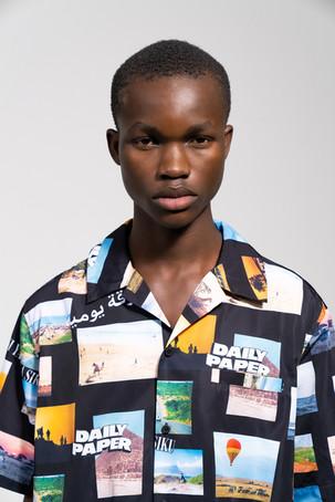 Fashion brand Dailiy paper resort 2020 collection shot