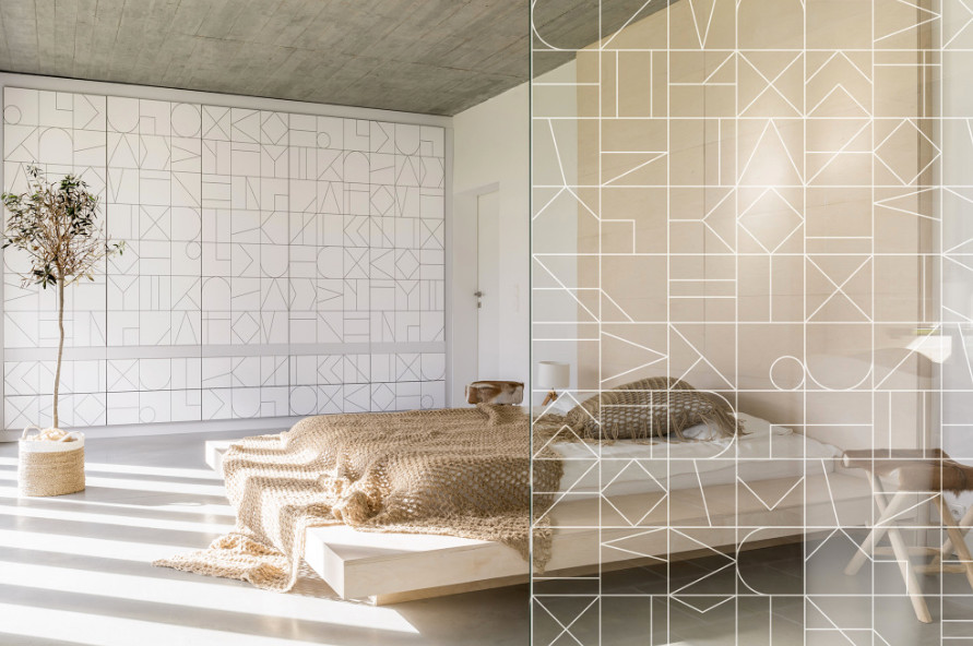 Italian designer Camilla Brunelli's design for a bedroom