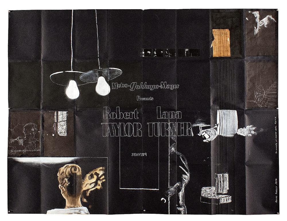 Artist Pietro finelli's artwork on a movie poster