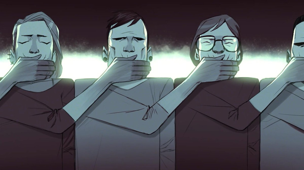 """A still from animated short movie """"IN-SHADOW: A MODERN ODYSSEY"""""""""""