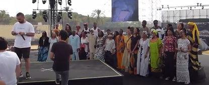 מקהלת העבריים מאפריקה עם עומר אדם