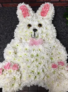 funeral flowers bunny. chobham florist,
