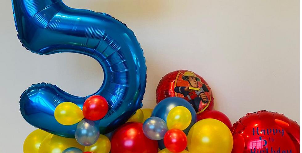 Balloon number bundles