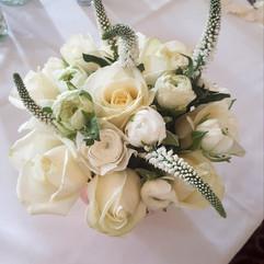 veronica and ranunculus bouquet