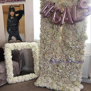 party flower wall