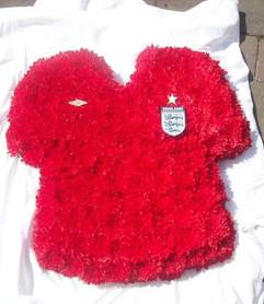 funeral tribute football england fan, fl