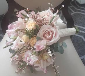 Dusky spring flowers