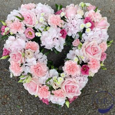 open heart funeral tribute, surrey, woki