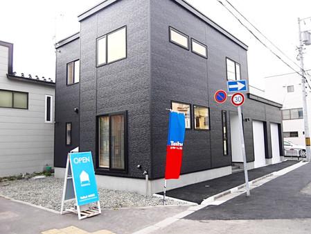 完成現場見学会(堀川町の家)