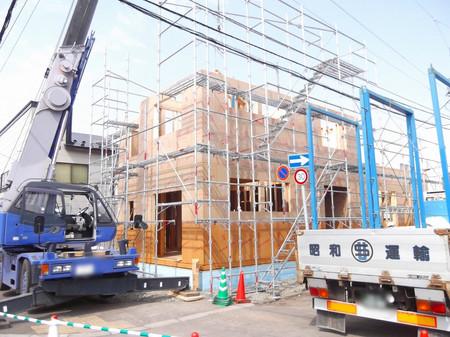 建込み 堀川町の家