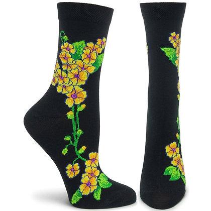 Florals Primrose Sock