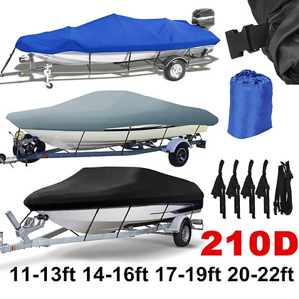 14-22ft 210D Boat Cover