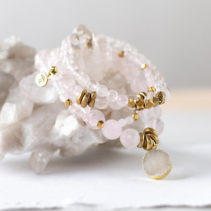 Rose Quartz Gemstone Bracelets