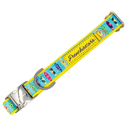 Frenchiestore Breakaway Dog Collar | California Dreamin'