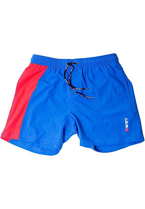 Lalu Eco-Friendly Quick Dry UV Protection Perfect Fit Blue Beach Shorts