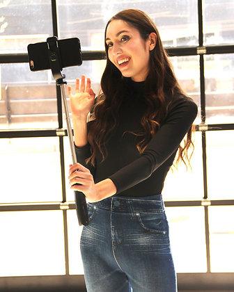 Bluetooth Selfie Stick and Tripod