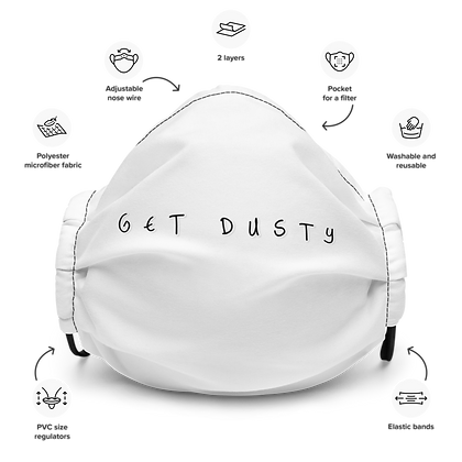 DustyTrac Face Mask