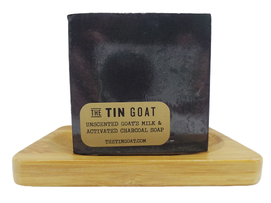 Activated Charcoal Goat's Milk Soap