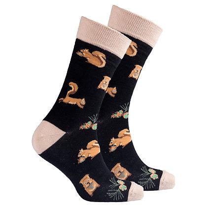 Men's Squirrel Socks