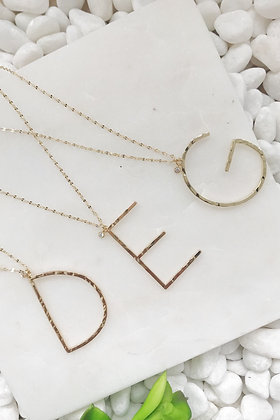 Ellison + Young: Modern Muse Monogram Necklace Collection