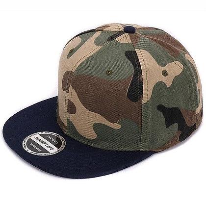 HATLANDER Camouflage Snapback Polyester Camo Baseball Cap