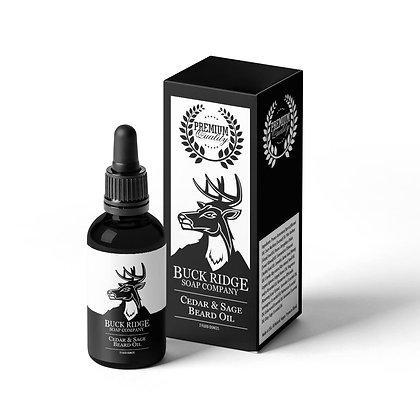 Cedar & Sage Beard Oil