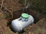 Gas Tank: installation of an interred do