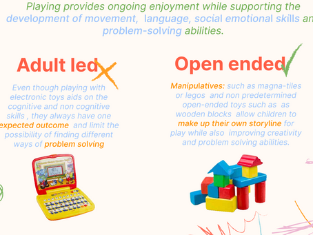 The best toys for child development