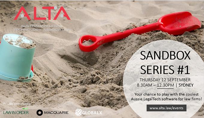 Event: Try the Red Marker platform at ALTA Sandbox!