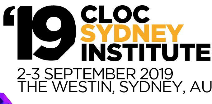 Event: CLOC 2019 Sydney Institute