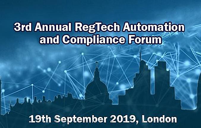 Event: RegTech Automation and Compliance Forum