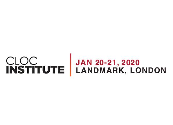 Event: CLOC London Institute, 20-21 Jan 20