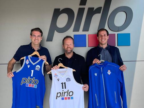 Einigung bis 2024 - Pirlo Group bleibt Towers Hauptsponsor!