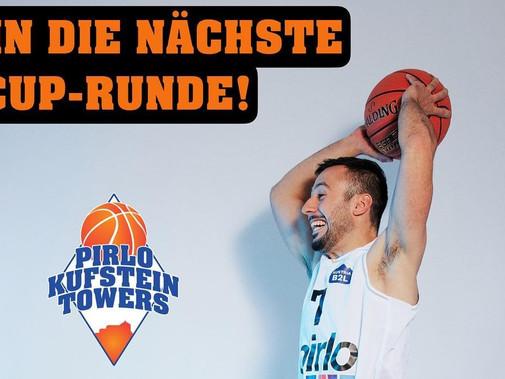 Pirlo Kufstein Towers wollen gegen die Raiffeisen Dornbirn Lionsin die nächste Cup Runde!