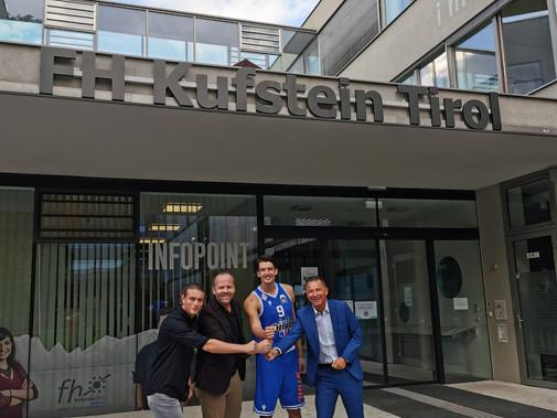 Pirlo Kufstein Towers und Fachhochschule Kufstein Tirol intensivieren Kooperation!