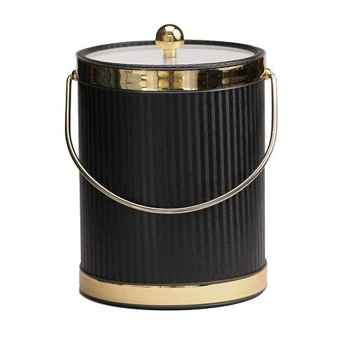Black Silhouette 5 qt. Ice Bucket